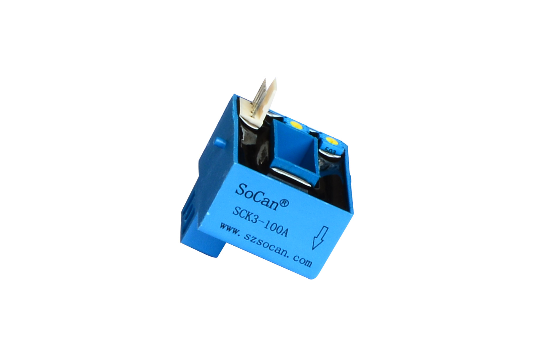 SCK3 Series high quality small size open loop hall dc voltage sensor