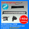 Cree led off road truck lights review aluminum 140W LED tractor working light 12V 24V LED car auto lights
