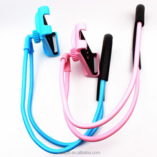 lazy hanging neck mobile phone stands , universal mobile phone holder lazy neck