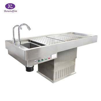 China Supplier Manufacturer Mortuary Equipment Funeral Morgue Equipment 304  Stainless Steel Postmortem Table - Buy Autopsy Table,Stainless Steel