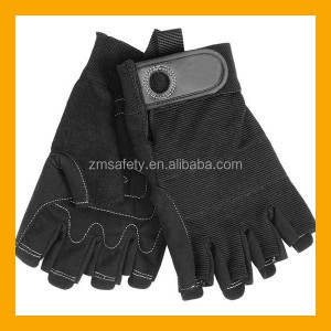 Short Finger Climbing Gloves Fast Rope Gloves