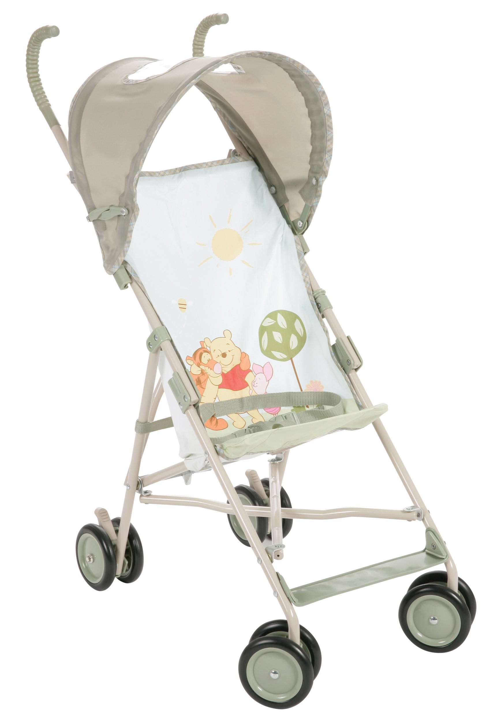Disney Baby Umbrella Stroller with Canopy Featuring Pooh Characters, Ambrosia (Discontinued by Manufacturer)
