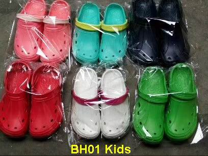 rejected order clearance stocks lots kids clogs for children