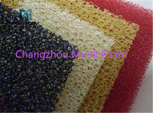Best price of aquatic tank/sink/pool filtering sponge foam breathable colorful filter for air pump/conditioner PU foam