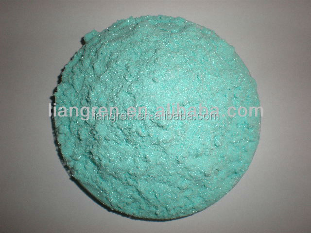 Green monoclinic crystal 98% nickel acetate for catalyzer