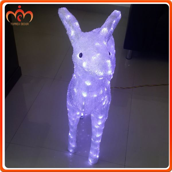 Artificial lighted christmas light deer for sale