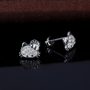 9408ace05 China Earring Hello Kitty, China Earring Hello Kitty Manufacturers and  Suppliers on Alibaba.com