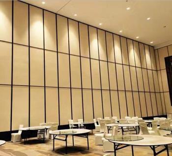 Hotel Soundproof Sliding Room Divider Movable Screens Room Dividers