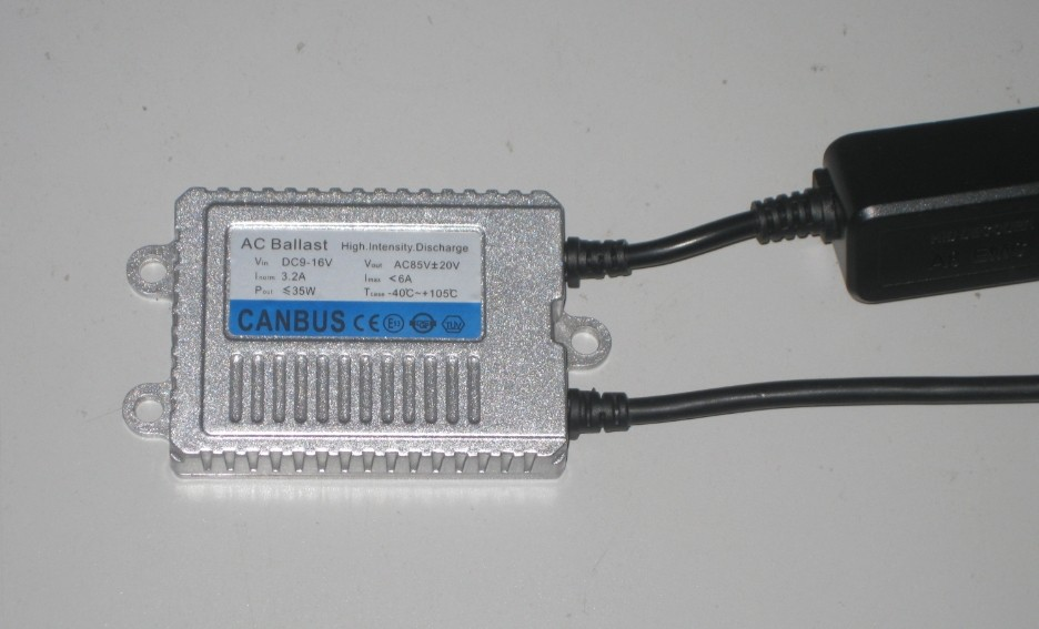 E-Mark approval CANBUS HID ballast HX35-A9 12V 35W for Skoda Superb, with warning canceller