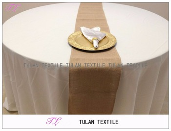 Natural Jute Rustic Burlap Table Runner For Wedding