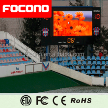 Focono Outdoor LED Display Screen P6 P8 P10 P16 P20 full colour smd rgb programmable led display with good