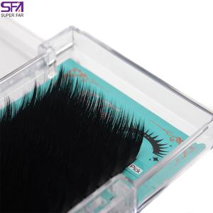 AAA 0 07mm Korean PBT Fiber Eyelash Extension Volume
