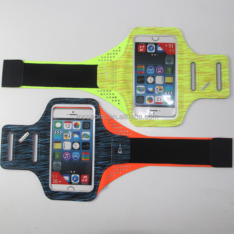 Mobile phone accessories ,Neoprene sprot armband for iphone 7 , for iphone 7 plus armband