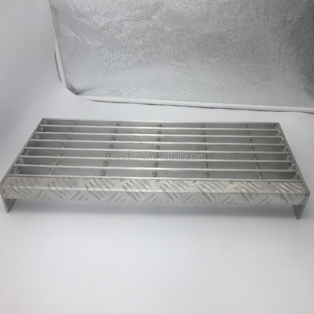 Outdoor Aluminum 6063 T6 Non Slip Stair Treads   Buy Stair Treads,Outdoor  Stair Steps,Aluminum Manhole Step Product On Alibaba.com