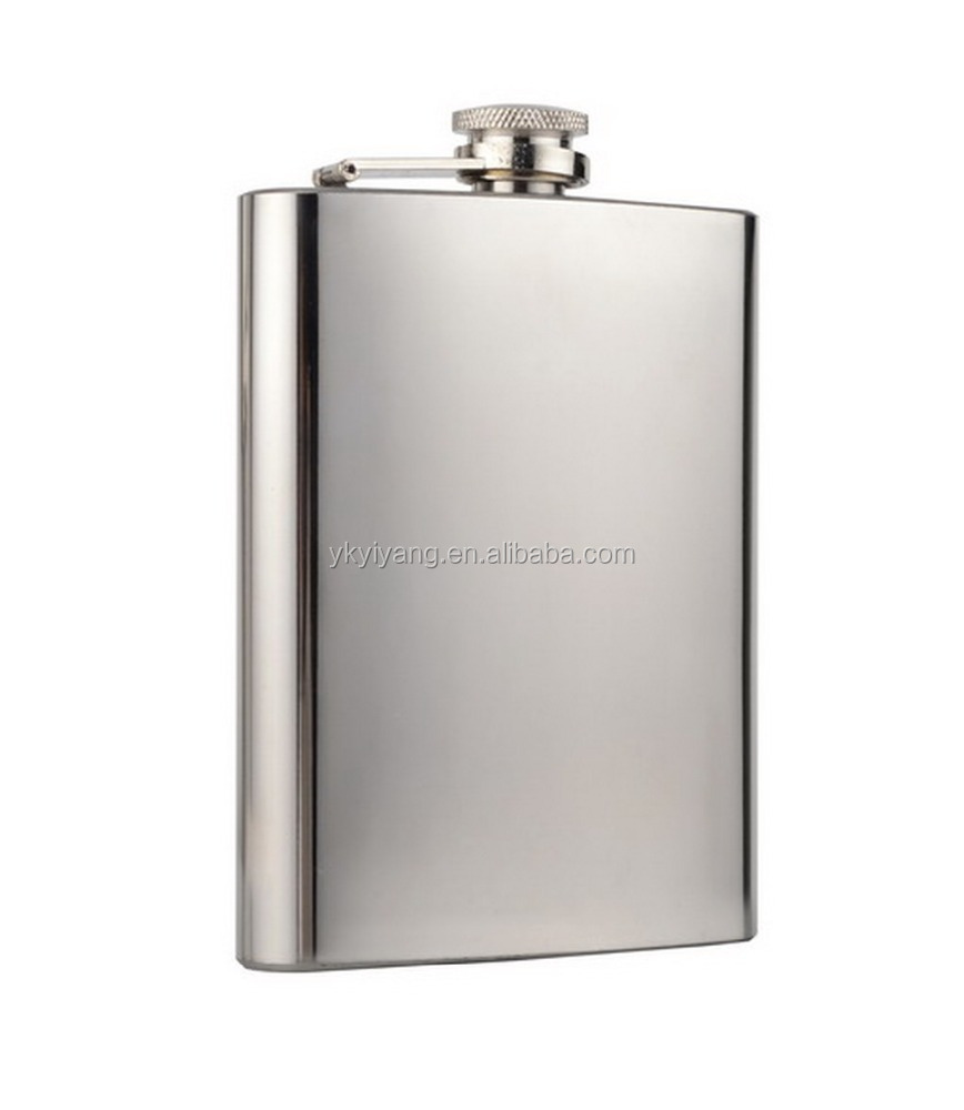 LFGB wedding golf best man matte stainless steel hip flask