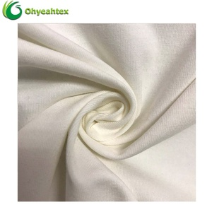 Soft Knitted Stretch Single Jersey Pima Cotton Fabric For T-shirt