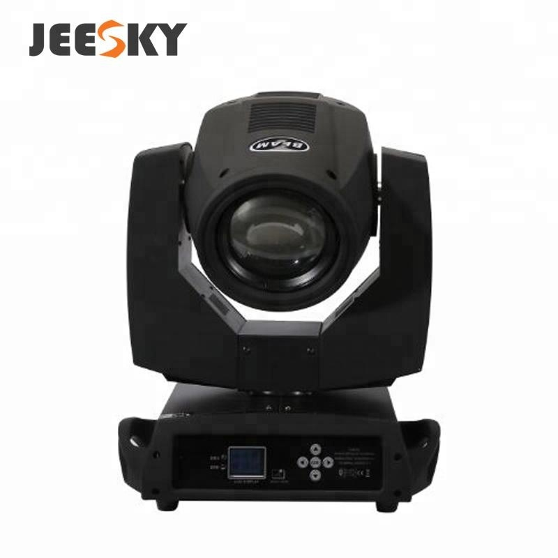 2018 venda quente JEESKY Y002 230 W barato led rgb feixe moving head dj equipamentos