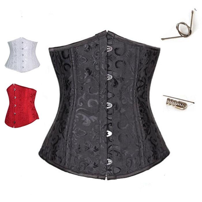 c43fb7cfa0 Get Quotations · 6xl plus size women corsets top bustier corset steel bone waist  training cincher women lace up