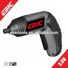 EBIC power tools 3.6V lithium Mini Electric Cordless Screwdriver operated by battery