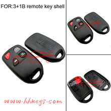 New Style Mazda 3+1 buttons remote keyless key cover for Mazda 3 5 6 CX-7 CX-9