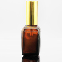 50ml square bottle beautiful glass dropper essential oil bottle with tamper evident cap