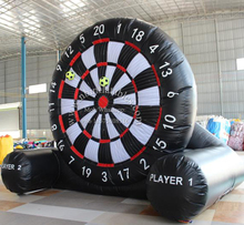 Soccer Games Giant Inflatable Football Soccer Dart Board Sport Game
