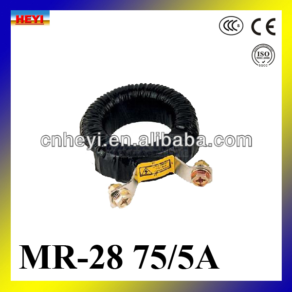 2014 new product MR-28 sreries current transformer High accuracy current transformer 75a