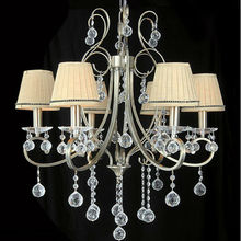 modern crystal lamp parts white e27 decorative lamp
