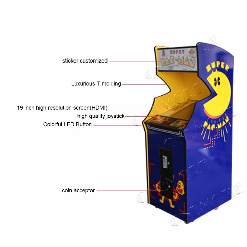 Classic Arcade Machine Smile Pacman 60 In One Jama Video Game Machine - Buy  Arcade Cabinet,Classic Arcade Games,Video Arcade Machines Product on