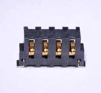 4 pin batterij oplader connector 2.5mm pitch, mobiele telefoon batterij connector