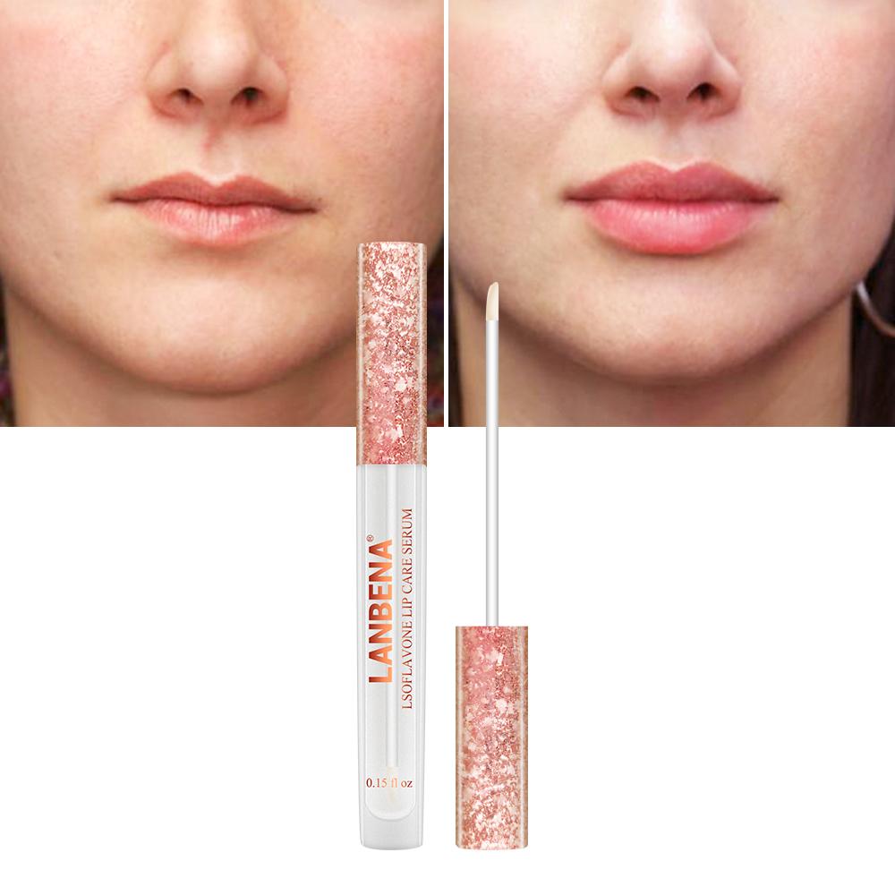 LANBENA roze lip voller enhancer isoflavonen lip pomp gratis verzending