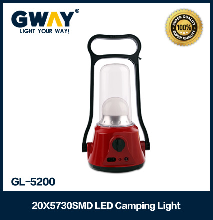 new popular product led camping lantern 20pcs smd