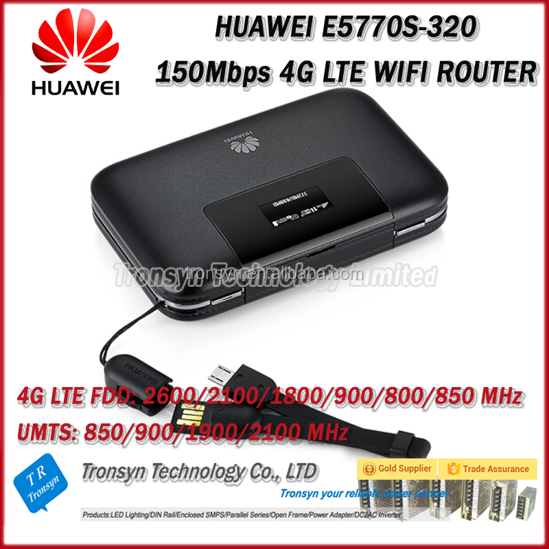 Original New Unlock 150Mbps E5770 Power Bank RJ45 4G LTE WiFi Router With 5200mAh Battery