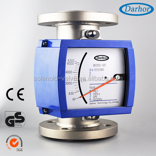DH250 high pressure low cost flow meter with explosion proof