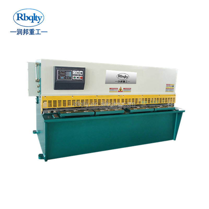 Best seller qc12y 8*6000 hydraulic steel metal plate shearing machine E21S system cutting shears for sale cheap price