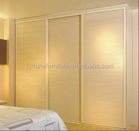 Wood Wardrobe With Louvered Doors, Wood Wardrobe With Louvered ...