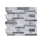 Hot popular item peel and stick subway tile stick on wall sticker self adhesive kitchen backsplash