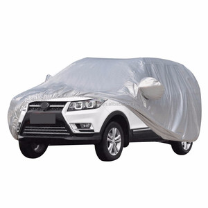 Woqi Car Cover Waterproof /Windproof/Dustproof/Scratch Resistant Car Cover Sun Outdoor UV Protection Full Car Covers