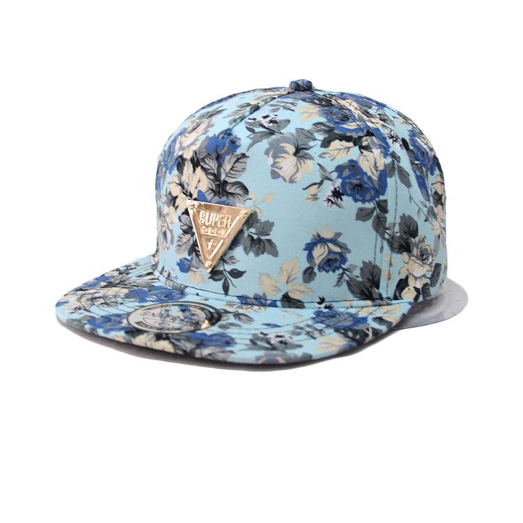 2015 мода хип-хоп шляпа Gorras Florales регулируемая бейсбол Snapback шляпы и матчей за мужской спорт хип-хоп крышка солнца металл Mc040