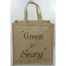 jute bags wholesale, full custom made and printed in your brand