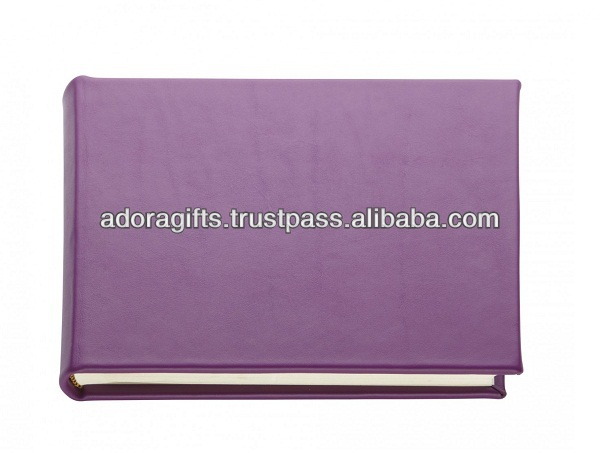 ADAPAC - 0051 faux leather promotion photo album / new design leather album wedding album / cute photo album oem india