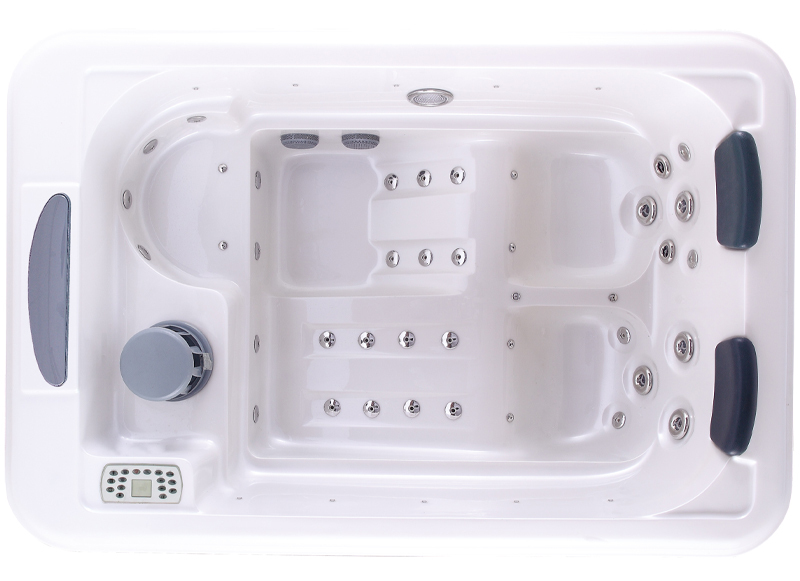 Indoor hot tub 2 person  Spa-291 Small Spa,2 Person Indoor Spa Baths,2 Lounge Mini Hot Tub ...