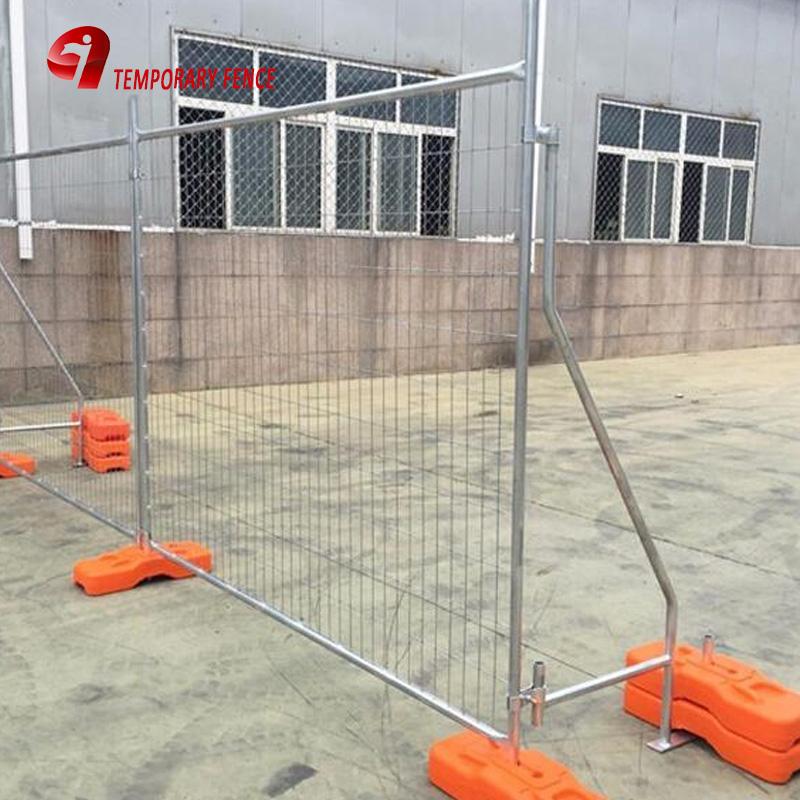 Al aire libre valla temporal soldado con autógena de la cerca de malla de accesorios
