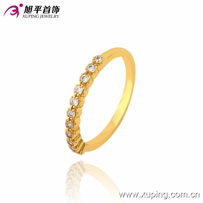 13594 Xuping Jewellery Simple Gold Ring Designs With Natural Stone ...