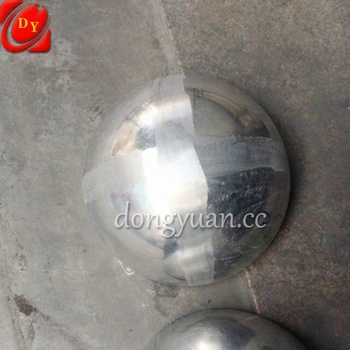 300mm, 400mm, 500mm Hollow Unpolished Aluminum Sphere