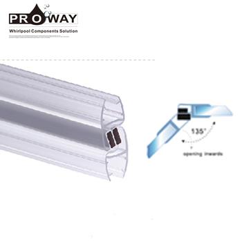 135 Grad Duschraum Tür Glas Magnetdichtung Für 4mm 6mm Glas Buy