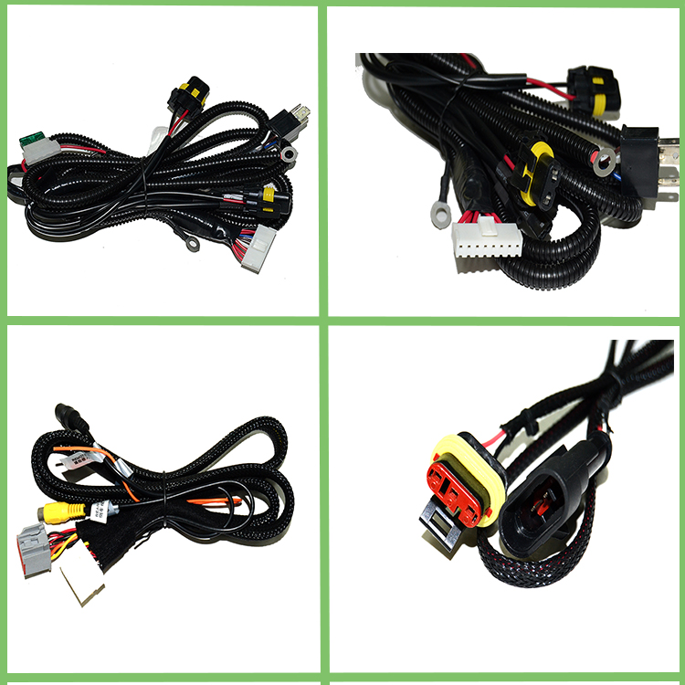 H8 H9 H11 connector car H7 headlight wire harness