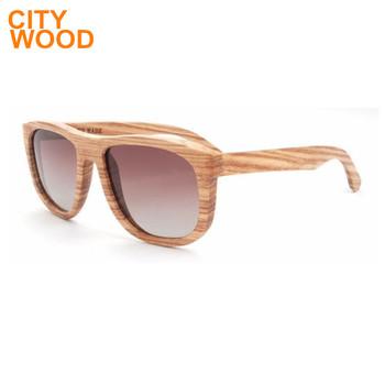 creative gift wood framed sunglasses - Wood Framed Sunglasses