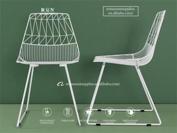 Buy Lucy D'extérieuramp; Lucy Fil Plier Pour Restaurant Métallique chaise En Réplique Chaise Mobilier Café cLA54j3Rq