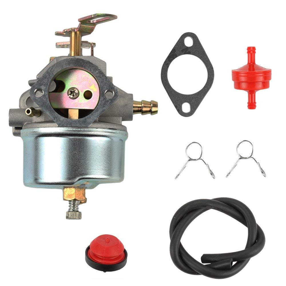 Milttor 632370A Carburetor Fuel Filter Line Primer Bulb For Tecumseh 632110 632370 HM100 HMSK90 HMSK100 Snow Blower